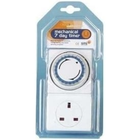 7 Day Plug In Mechanical Timer