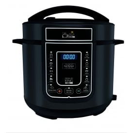 5L 12-in-1 Digital Pressure Cooker, Black