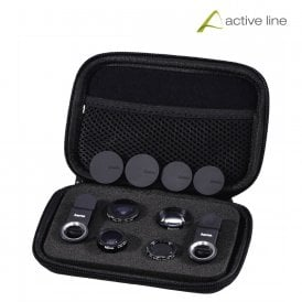 """Uni"" 5-in-1 Lens Set, MC, for Smartphones and Tablets"