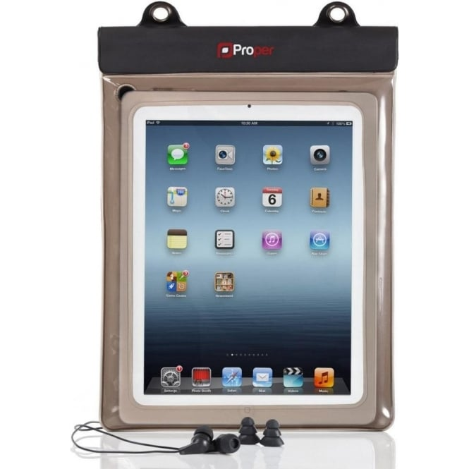 "Proper Waterproof 10"" Tablet Case"
