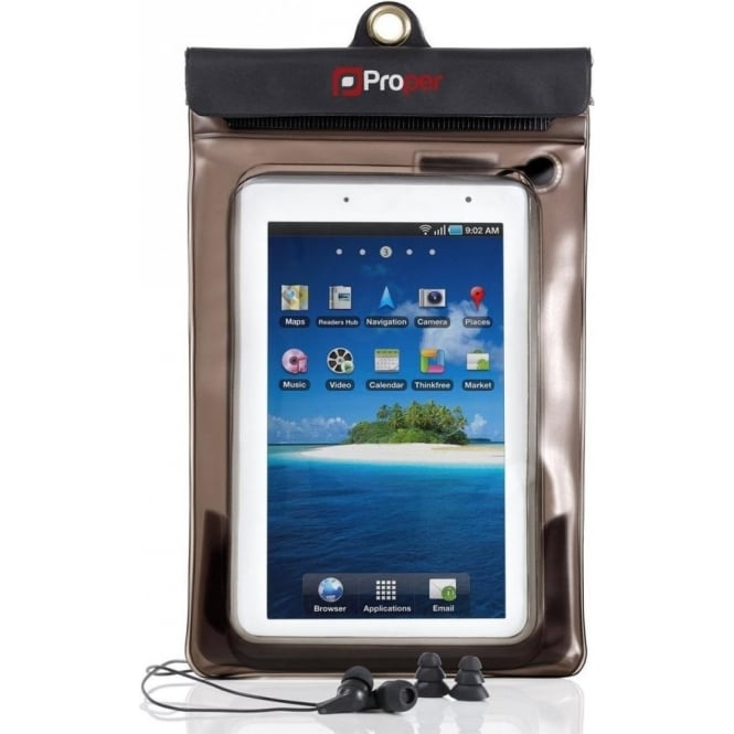 "Proper Waterproof 7"" Tablet Case"