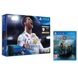 PS4 500GB Fifa 18 Bundle + God of War