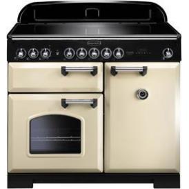 CDL100EICRC Classic Deluxe 100cm Range Cooker, Cream