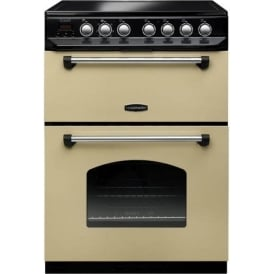 CLAS60ECCRC Classic 60cm Electric Cooker , Cream
