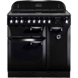 ELAS90EIBL Elan 90 Electric Range Cooker with Induction Hob, Black