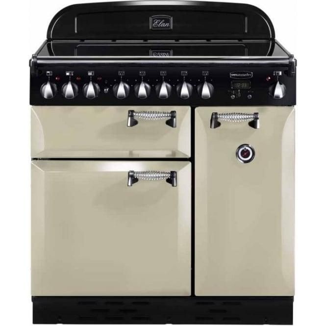 Rangemaster ELAS90EICR Elan 90 Electric Range Cooker, Cream