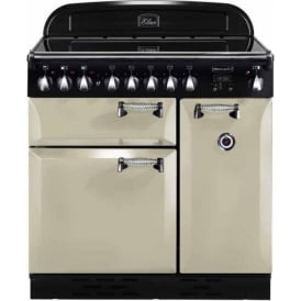 ELAS90EICR Elan 90 Electric Range Cooker, Cream