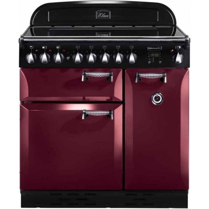 Rangemaster ELAS90EICY Elan 90 Electric Range Cooker, Cranberry