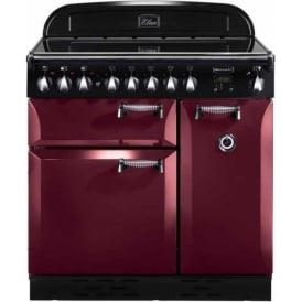 ELAS90EICY Elan 90 Electric Range Cooker, Cranberry