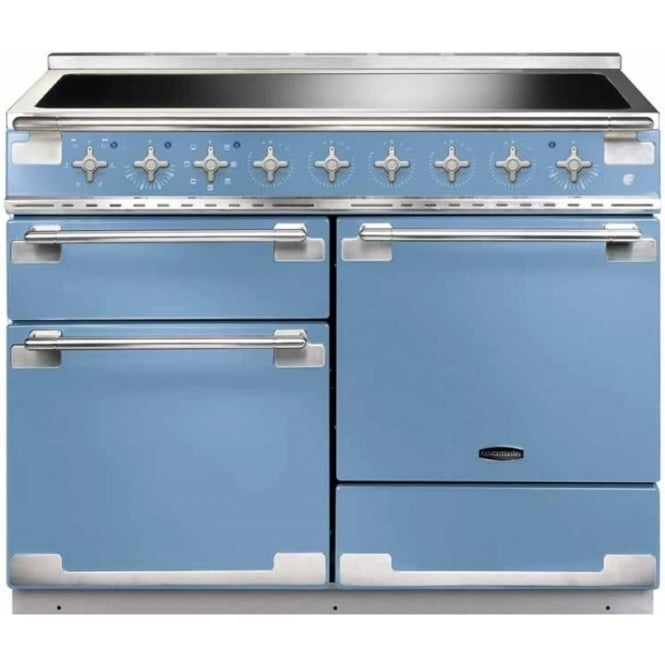 Rangemaster ELS110EICA Elise 110 Electric Cooker with Induction Hob, China Blue