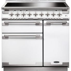 ELS90EIWH Elise 90 Electric Range Cooker with Induction Hob, White