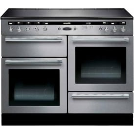 HLT110EISSC Hi-Lite 110 Electric Cooker with Induction Hob, Stainless Steel, Chrome Trim