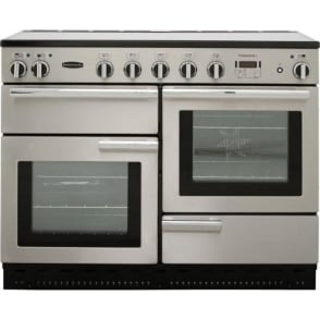 Professional Plus PROP110EISS/C 110cm Electric Range Cooker with Induction Hob, Stainless Steel
