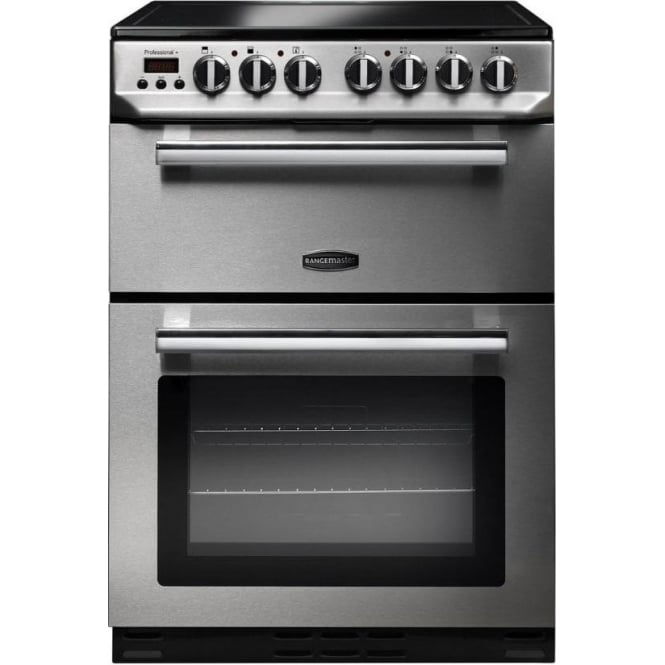 Rangemaster PROP60ECSSC Profesional 60cm Electric Cooker, Stainless Steel
