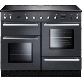 TOLS110ECGY Toledo 110 Electric Range Cooker with Ceramic Hob, Gun Metal Grey
