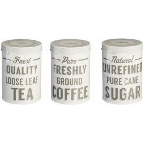 Baker Street Tea/Coffee/Sugar Tins