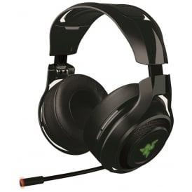 ManO'War Wireless 7.1 Surround Sound Gaming Headset PC/PS4, Black
