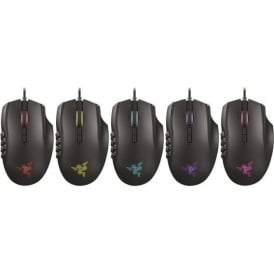 Naga Chroma Professional Grade Ergonomic MMO Gaming Mouse - 19 Programmable Buttons and Precise 16,000 DPI Sensor