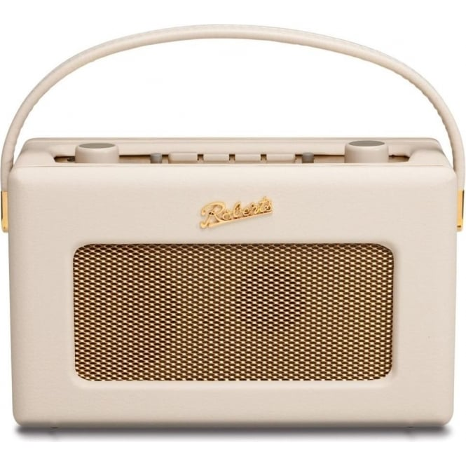Roberts Revival DAB/FM Digital Radio, Pastel Cream