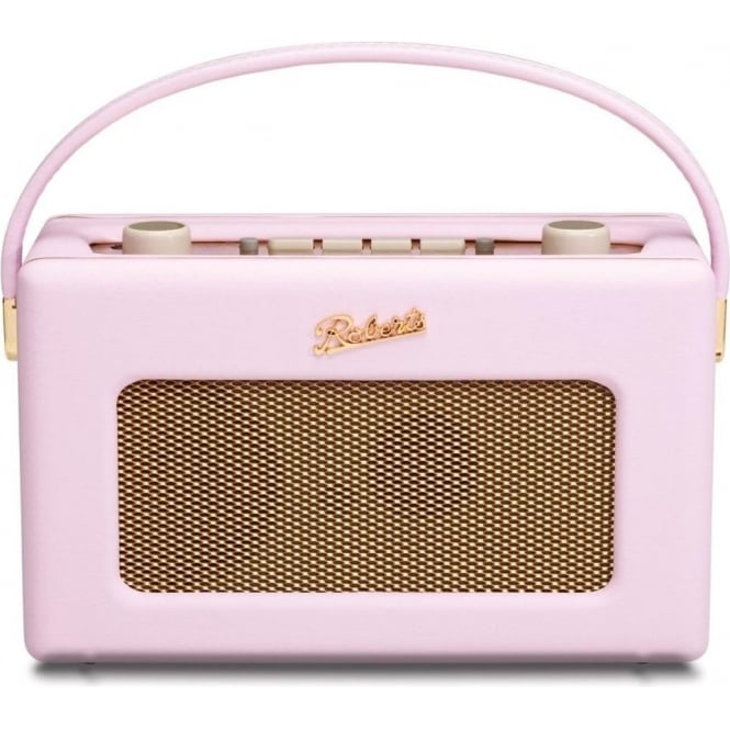 Roberts Revival DAB/FM Digital Radio, Pastel Pink