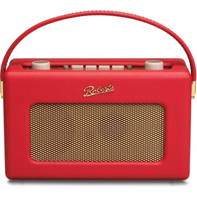 Roberts Revival DAB/FM Digital Radio, Red