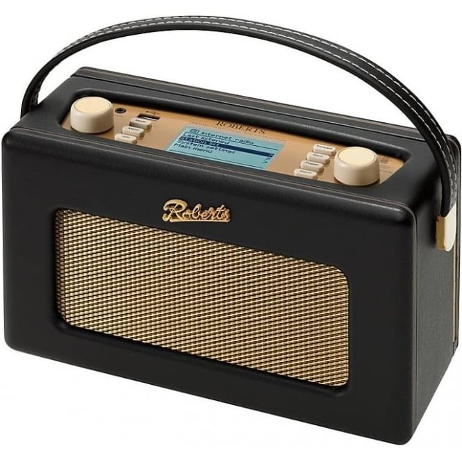 Roberts Revival iStream 2 Smart Radio With DAB+/FM Internet Radio, Black
