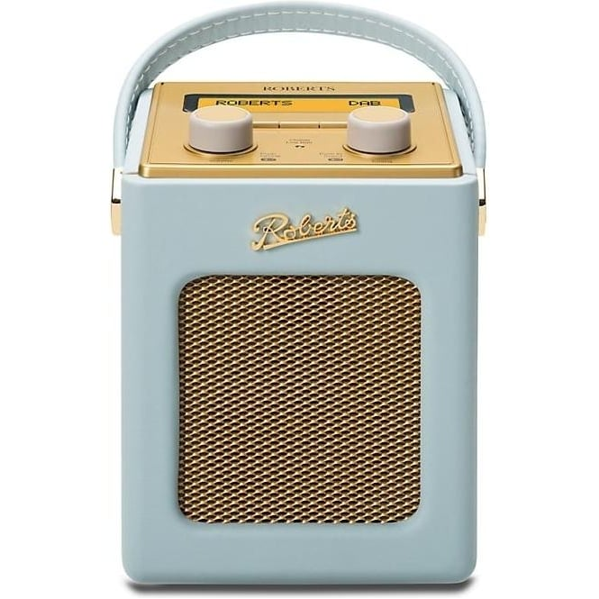 Roberts Revival Mini DAB/FM Digital Radio, Duck Egg