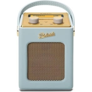 Revival Mini DAB/FM Digital Radio, Duck Egg