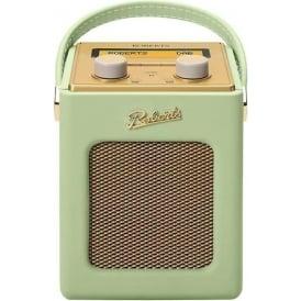 Revival Mini DAB/FM Digital Radio, Leaf