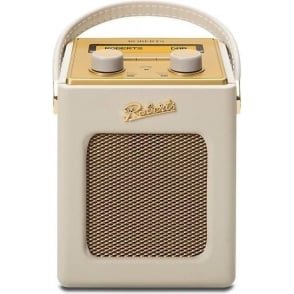 Revival Mini DAB/FM Digital Radio, Pastel Cream