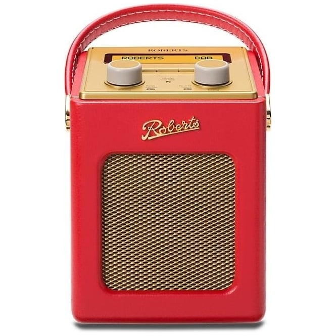 Roberts Revival Mini DAB/FM Digital Radio, Red