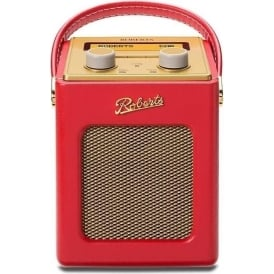 Revival Mini DAB/FM Digital Radio, Red