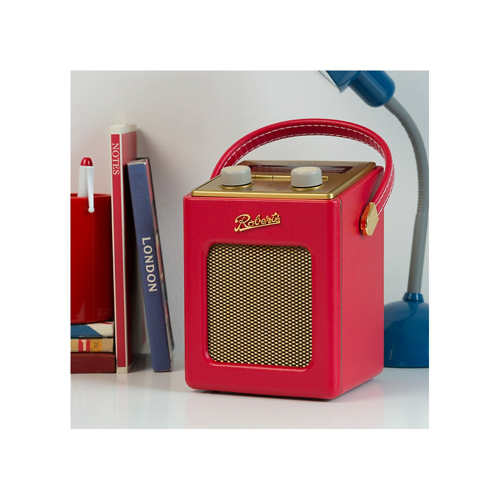 roberts revival mini dab fm digital radio red roberts. Black Bedroom Furniture Sets. Home Design Ideas