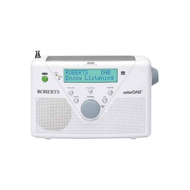Roberts Solar DAB Radio White