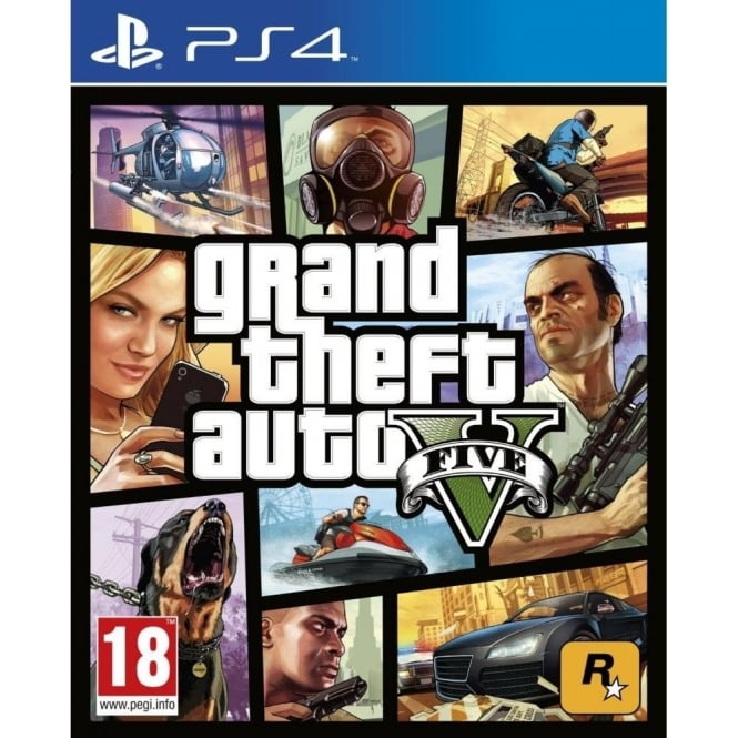 Rockstar Games Grand Theft Auto V PlayStation 4 Video Game