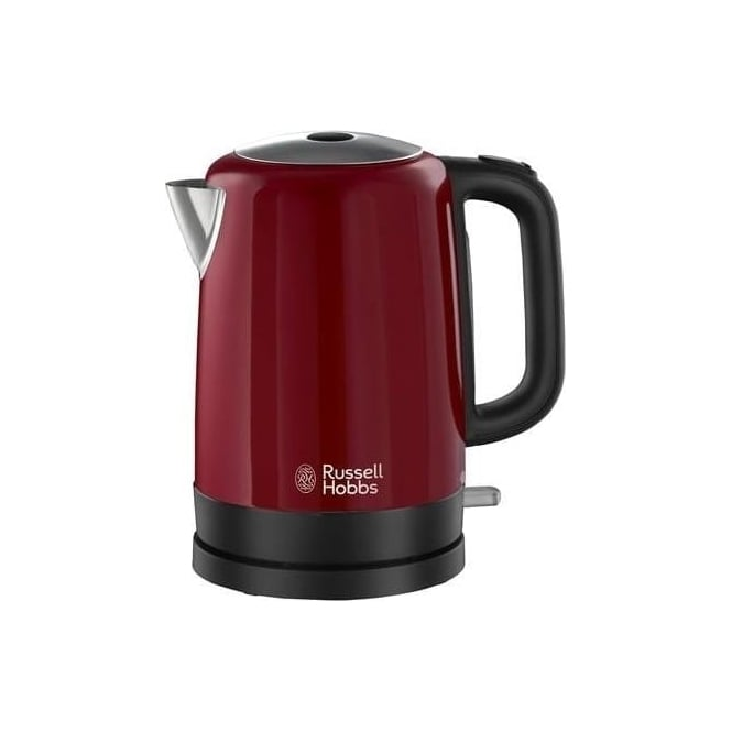 Russell Hobbs 20612 Canterbury Kettle, 1.7L, 3000W, Red