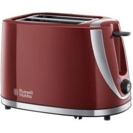 21411 Mode 2-Slice Toaster, Red