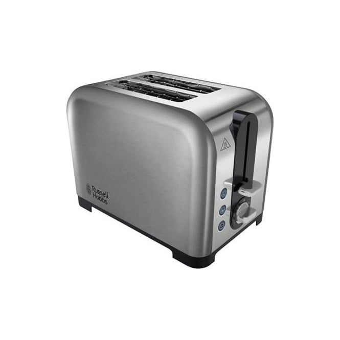 Russell Hobbs 22390 Canterbury 2 Slice Toaster, Polished Stainless Steel Silver