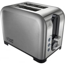 22390 Canterbury 2 Slice Toaster, Polished Stainless Steel Silver