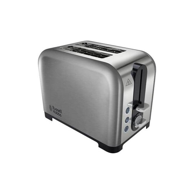 Russell Hobbs Canterbury 2 Slice Toaster, Stainless Steel