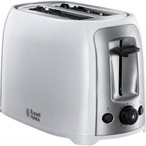 Darwin 2 Slice Toaster, White