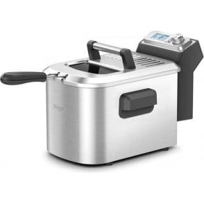BDF500UK Smart Deep Fryer, 4 Litre Oil Capacity, Brushed Metal Finish, 2200 Watt