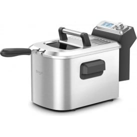 BDF500UK Smart Deep Fryer, 4 Litre Oil Capacity, Brushed Metal Finish, 2200 Watt