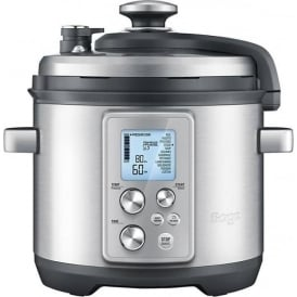 BPR700BSS The Fast Slow Pro Slow Cooker, Brushed Metal