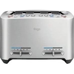 The Smart Toast™ 4 Slice Toaster, Stainless Steel