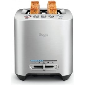 the Smart Toast™ 2 Slice Toaster, Stainless Steel