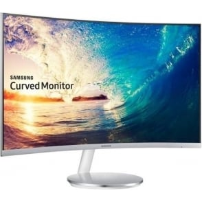 "27"" Curved Monitor - 1.8m Curve Radius Full HD with Crystal Colour"