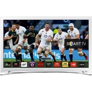 "32"" Smart Flat HD LED TV, White"