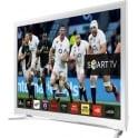 "Samsung 32"" Smart Flat HD LED TV, White"