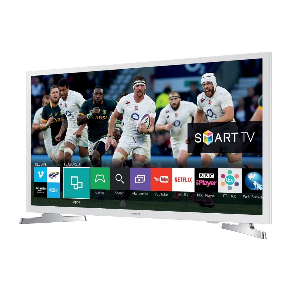 samsung 32 smart flat hd ready led tv white samsung. Black Bedroom Furniture Sets. Home Design Ideas
